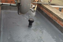 Replacing old EPDM rubber with new fibreglass (1)
